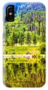 Reflections On A Summer Day - Vail - Colorado IPhone Case