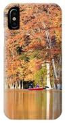 Reflections On The Frio River IIi IPhone Case