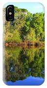 Reflections On The River IPhone Case