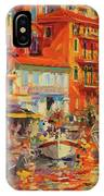 Reflections - Villefranche IPhone Case