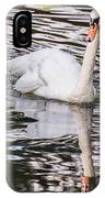 Reflective Swan IPhone Case