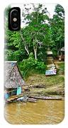 Refueling Along The Amazon River-peru  IPhone Case