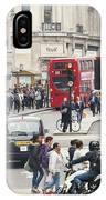 Regent Street London IPhone Case