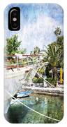 Relaxing In Cavtat IPhone Case