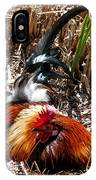 Relaxing Rooster IPhone Case
