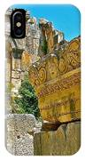 Relief In The Coutyard In Myra-turkey IPhone Case