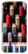 Religious Candles IPhone Case
