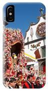 Religious Festival In Azores IPhone Case