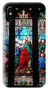 Religious Stained Glass Windows IPhone Case