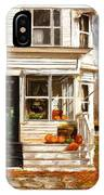 Remembering When- Porches Art IPhone Case