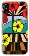 Remembrance Poppy IPhone Case