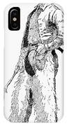 Remington Cowboy, 1887 IPhone Case