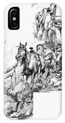 Remington Cowboys, 1887 IPhone Case