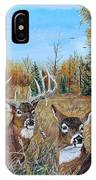 Rendezvous Whitetail IPhone Case