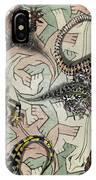 Reptiles - Inspired By Escher - Elena Yakubovich IPhone Case