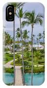 Resort In Dominican Republic IPhone Case