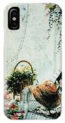 Rest From Garden Chores IPhone Case