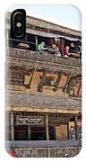 Restaurant In Bhaktapur Durbar Square In Bhaktapur-nepal IPhone Case