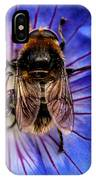 Resting Bee IPhone Case