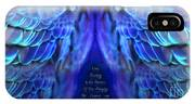 Psalm 91 Wings IPhone Case