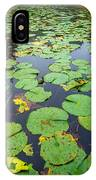 Resting Lilly Pads IPhone Case