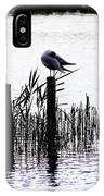 Resting Seagull  IPhone Case