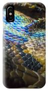Reticulated Python With Rainbow Scales 2 IPhone Case