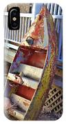 Retired Amusement Ride Boat IPhone Case
