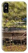Retired Wagon At Thousand Trails IPhone Case