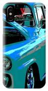 Retro Blue Truck IPhone Case