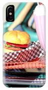 Retro Diner. IPhone Case