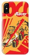 Retro Poster Cartoon Vintage Race Car IPhone Case