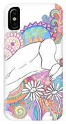 Retro Rabbit 2 IPhone Case