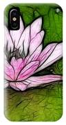 Retro Water Lilly IPhone Case
