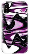 Retro Waves Abstract - Pink IPhone Case
