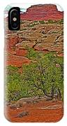 Return Trail To Elephant Hill In Needles District Of Canyonlands National Park-utah IPhone Case