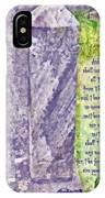 Revelation 21 4 IPhone Case