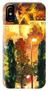 Revived Legend - Palette Knife Oil Painting On Canvas By Leonid Afremov IPhone Case