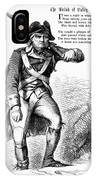 Revolutionary Soldier IPhone Case