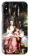Reynolds' Lady Elizabeth Delme And Her Children IPhone Case
