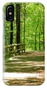 Wooded Path 15 IPhone Case