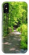 Wooded Path 20 IPhone Case