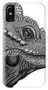 Rhinoceros Iguana IPhone Case