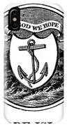 Rhode Island State Seal IPhone Case