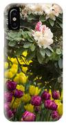 Rhodies And Tulips IPhone Case