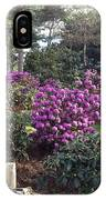 Rhododendron Garden IPhone Case