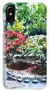 Rhododendrons In The Yard IPhone Case