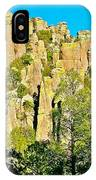Rhyolite Columns On Ed Riggs Trail In Chiricahua National Monument-arizona IPhone Case