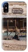 Rhyolite Mercantile IPhone Case