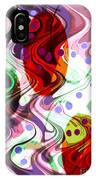 Rhythem Of Change II IPhone Case